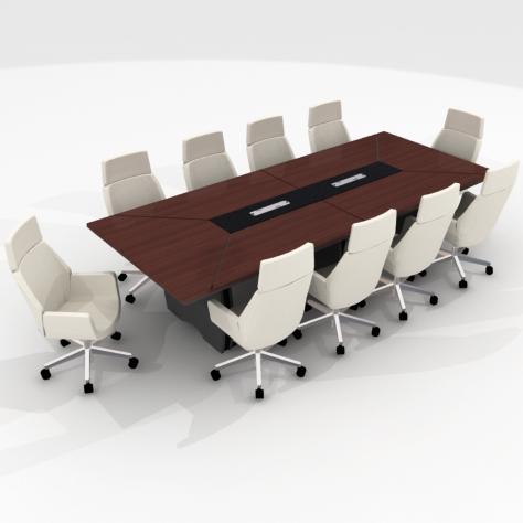 Interiorismo for Mesa de reuniones