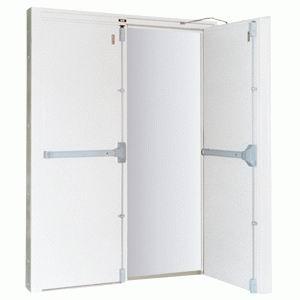 Puertas met licas puerta met licas de seguridad - Puertas de aluminio doble hoja ...
